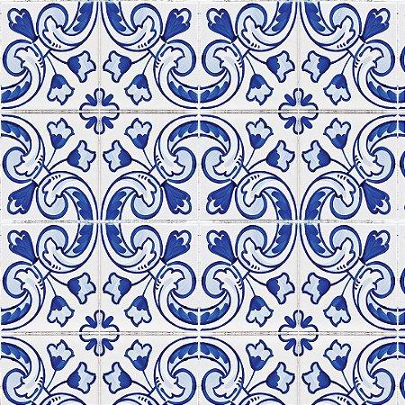 Papel de Parede Adesivo Azulejo Viçosa
