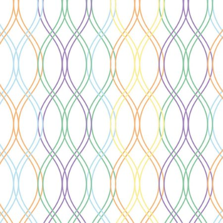 Papel de Parede Adesivo Geométrico Colore
