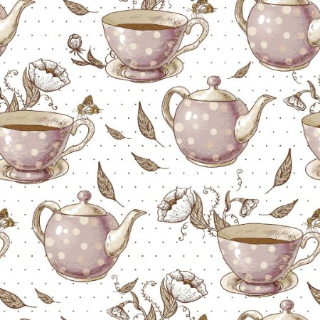 Papel de Parede Adesivo Casual Chá