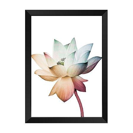 Quadro Flor Elegance Prosperidade