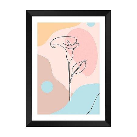 Quadro Flor Valentine Dior