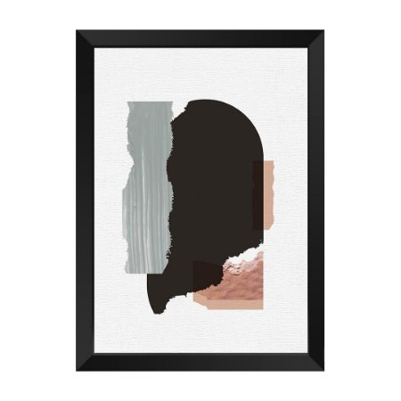 Quadro Textura Abstrat Pietá