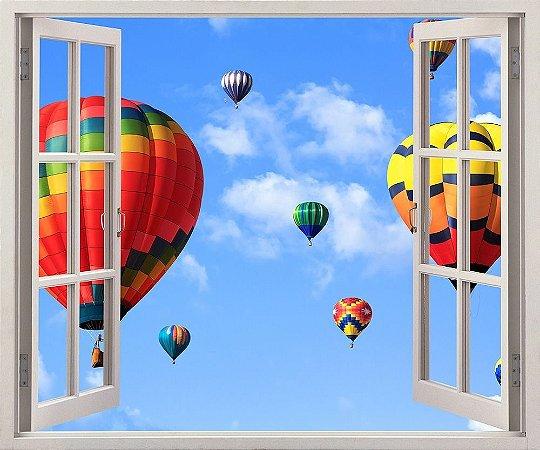 Balões coloridos - 120x90cm