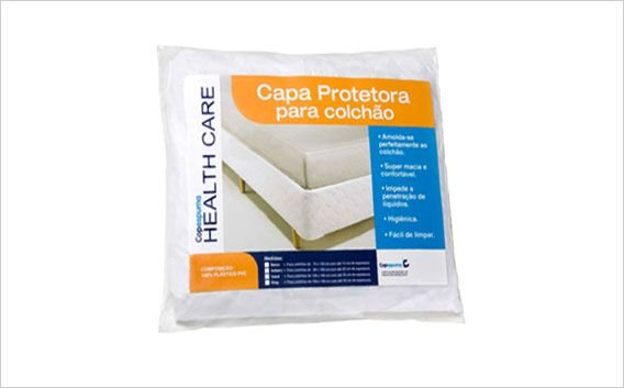 Capa Bioelastic Branca para Colchao Vapt Vupt