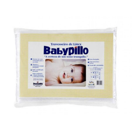 Travesseiro Latex Babypillo