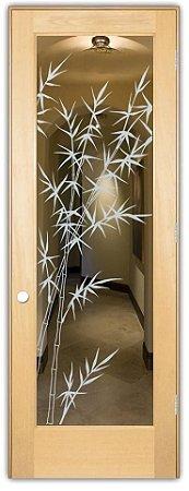 Adesivo Decorativo Jateado - Bambu I - 210x085 cm