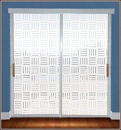 Adesivo jateado - Lines4 - 210x065 cm