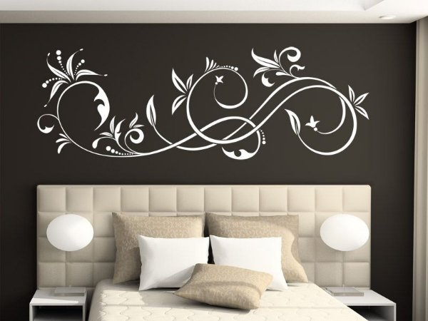 Adesivo de parede - Ornamento Elegante