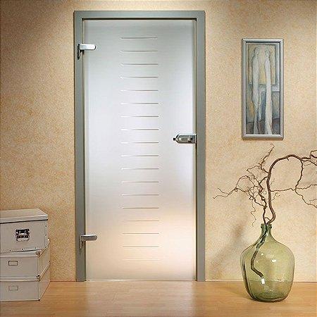Adesivo jateado para portas - 210x060cm - Outras medidas, consulte-nos