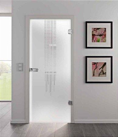 Adesivo Decorativo Jateado Flow Full - 215x100 cm