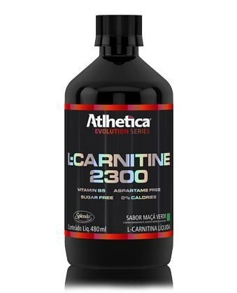 L-Carnitine 2300 c/ 480ml sabor Abacaxi ATLHETICA