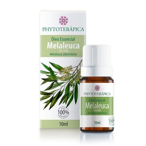 ÓLEO ESSENCIAL DE MELALEUCA (TEA TREE) - 10ml PHYTOTERAPICA