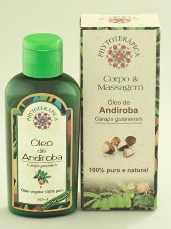 Óleo Vegetal de Andiroba - 60ml PHYTOTERAPICA