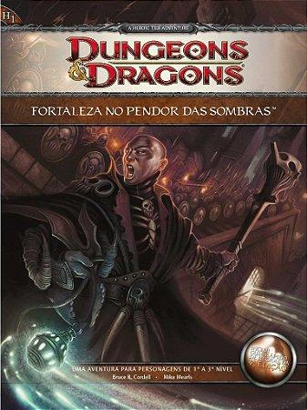 DUNGEONS & DRAGONS FORTALEZA NO PENDOR DAS SOMBRAS LIVRO RPG LACRADO
