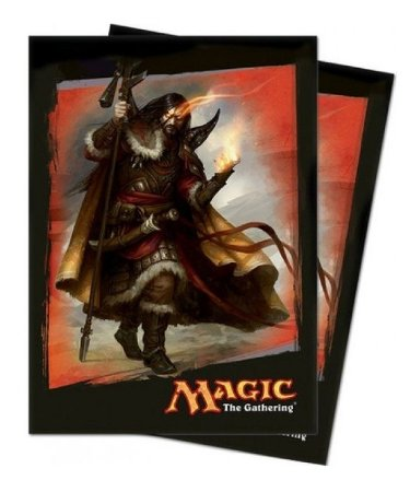 SLEEVES PROTETOR SHIELDS P/ CARTAS TEMA MAGIC KHANS DE TARKIR 80 UNIDADES