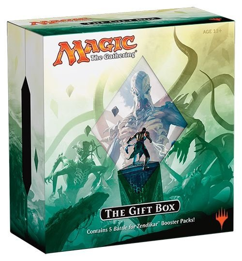 MAGIC THE GATHERING THE GIFT BOX BATTLE FOR ZENDIKAR INGLÊS LACRADO