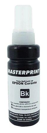 TINTA EPSON CORANTE UNIVERSAL MASTERPRINT 100 ML PRETO PARA BULK INK