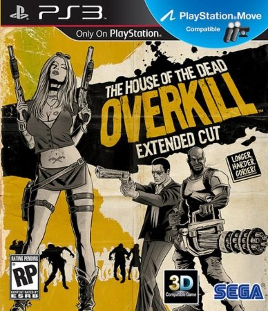 Jogo The House Of The Dead Overkill Ps3 Novo Lacrado Compat.