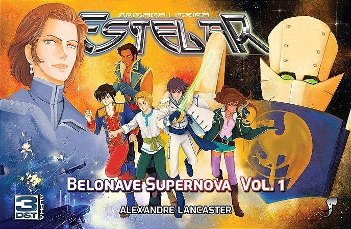 BELONAVE SUPERNOVA VOLUME 1 E 2 COMPLETO LIVROS RPG 3D&T ALPHA