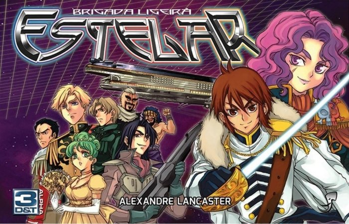 BRIGADA LIGEIRA ESTELAR LIVRO RPG 3D&T ALPHA