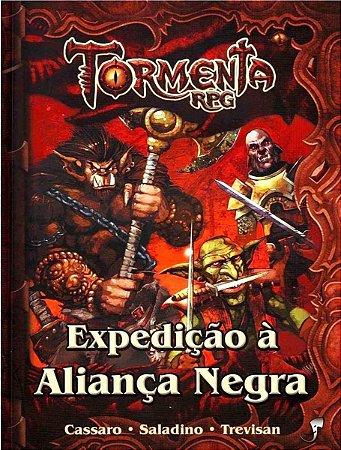 EXPEDIÇÃO À ALIANÇA NEGRA TORMENTA LIVRO RPG