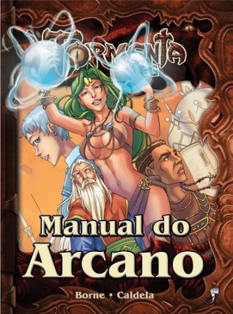 MANUAL DO ARCANO TORMENTA LIVRO RPG