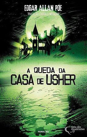 HQ A QUEDA DA CASA DE USHER EDGAR ALLAN POE LACRADO
