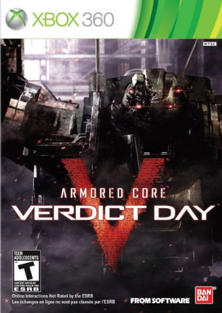 ARMORED CORE VERDICT DAY XBOX 360 FÍSICA LACRADO