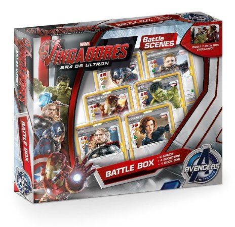 BATTLE SCENES BATTLE BOX VINGADORES ERA DE ULTRON