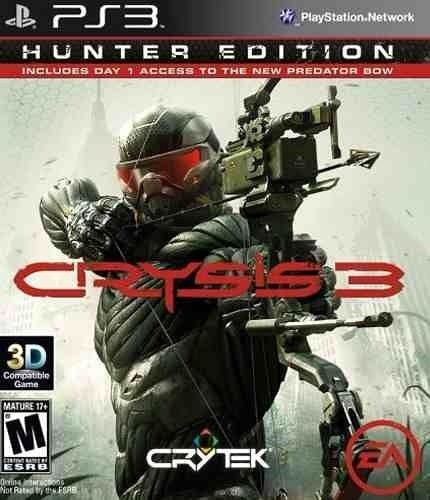 Jogo Crysis 3 Hunter Edition Ps3 Novo Lacrado Nacional