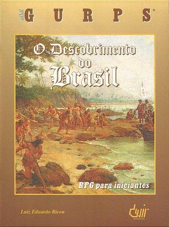 MINI GURPS O DESCOBRIMENTO DO BRASIL LIVRO RPG PARA INICIANTES