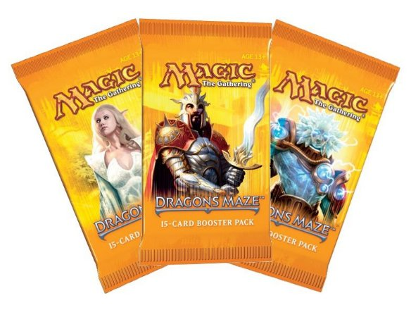 MAGIC THE GATHERING LABIRINTO DO DRAGÃO BOOSTER C/ 15 CARTAS EM PORTUGUES