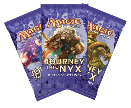 MAGIC THE GATHERING JOURNEY INTO NYX 3 BOOSTER 45 CARTAS