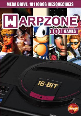 REVISTA WARPZONE 101 GAMES MEGA DRIVE NOVO