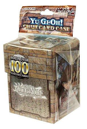 YU-GI-OH! DECK BOX PORTA CARTAS CHIBI YUGI & KAIBA LACRADO ORIGINAL