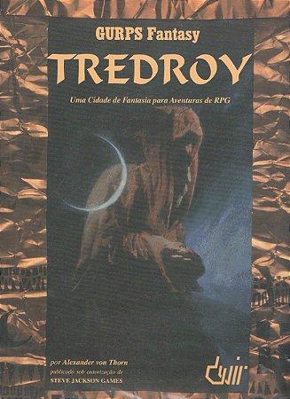 GURPS TREDROY LIVRO RPG DEVIR NOVO
