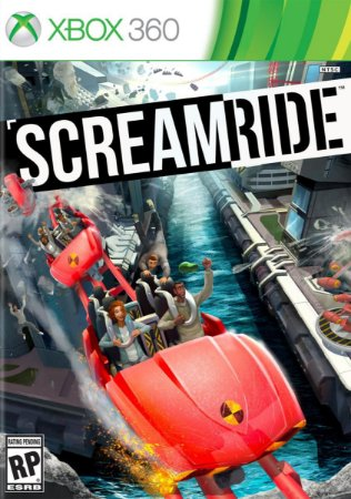 SCREAMRIDE SCREAM RIDE XBOX 360 EM PORTUGUÊS FISICA LACRADO