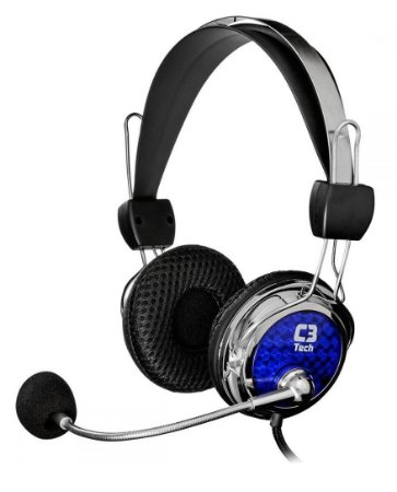 FONE DE OUVIDO HEADSET GAMER C3TECH PTERODAX MI-2322RC PC NOTEBOOK