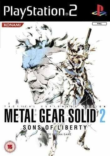 Metal Gear Solid 2 Sons Of Liberty Ps2 Usado Completo