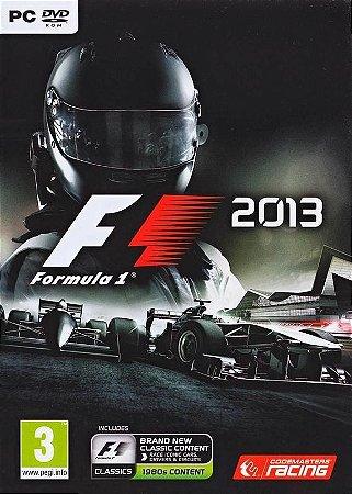 F1 2013 PC NOVO LACRADO EM PORTUGUES