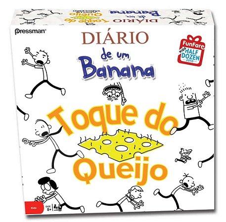 DIÁRIO DE UM BANANA TOQUE DO QUEIJO JOGO DE TABULEIRO PORTUGUES LACRADO