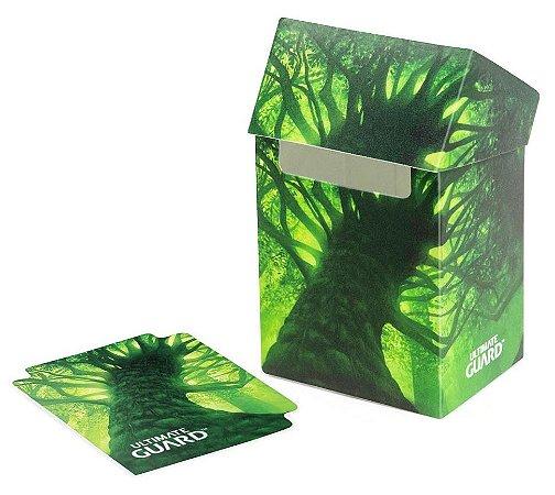 DECK BOX PORTA CARTAS ULTIMATE GUARD FOREST I P/ YU-GI-OH! POKÉMON E MAGIC