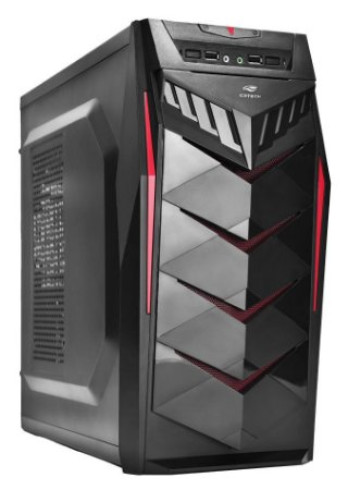 GABINETE GAMER C3TECH MT-G70BK SSD USB 2.0