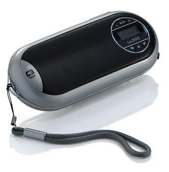 CAIXA DE SOM PORTÁTIL C3TECH ST-180SI PRATA 3W VISOR LCD MICRO SD MP3