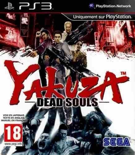 YAKUZA DEAD SOULS PS3 NOVO LACRADO