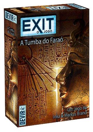 EXIT A TUMBA DO FARAÓ JOGO DE TABULEIRO / CARTAS LACRADO