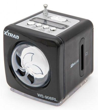 CAIXA DE SOM PORTÁTIL XTRAD WS-908RL MP3 PEN DRIVE SD RADIO LED