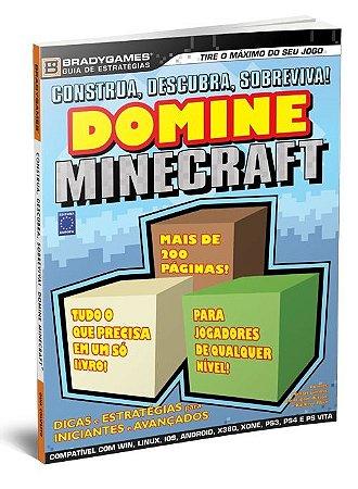 DOMINE MINECRAFT REVISTA GUIA DE ESTRATÉGIAS