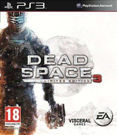 DEAD SPACE 3 LIMITED EDITION PS3 NOVO LACRADO
