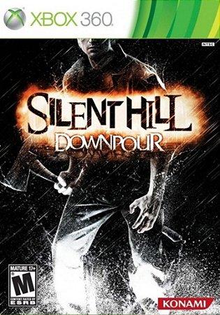 SILENT HILL DOWNPOUR XBOX 360 NOVO LACRADO